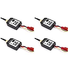4 x Quantity of Helicopter Quadcopter Airplane Boat Car Controller 5.8GHz Video Transmitter TX5803 Black 200mW FPV