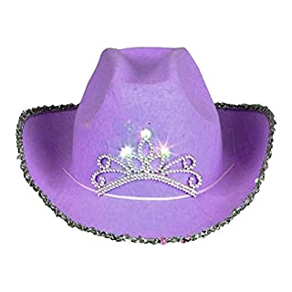 Parris Cowgirl Hat in,Purple,one Size