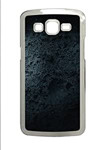 Overgrown Ceramic Shape Polycarbonate Hard Case Cover for Samsung Galaxy Grand 2¨C Transparent