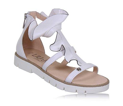Liu Jo Girl L4A2-00220-0057 Sandale Frau Weiß