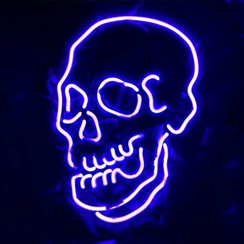 LiQi Skull Neon Sign (14