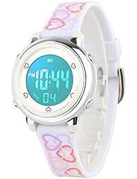 Kids Digital Watch, Boys Sports Waterproof Led Watches Kids Watches with Alarm Wrist Watches for Boy Girls Children A