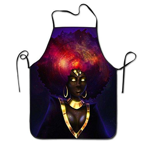 Ausgsds Bib Kitchen Apron African Witch Waterproof Chef Apron With Pockets