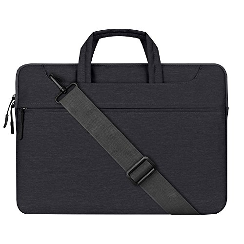 (Cuitan 15 15.4 Inch Laptop Shoulder Bag / Notebook Computer Case / Briefcase Sleeve for Apple MacBook Pro, Lenovo, HP, ASUS, Acer, Toshiba, Dell, Carrying Messenger Bag for Notebook 15