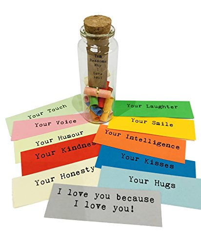 Little Jar Of Big Ideas Ten Reasons Why I Love You To The Person I Love Unique Present Artisan Handcrafted Gift Original Buy Online In Cayman Islands At
