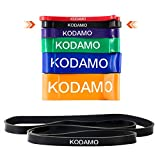 Cheap KODAMO Pull-Up Assist Bands- Heavy Duty Resistance Bands, Perfect for Body Stretching, Powerlifting, Resistance Training – Single Band(BLACK 19MM)