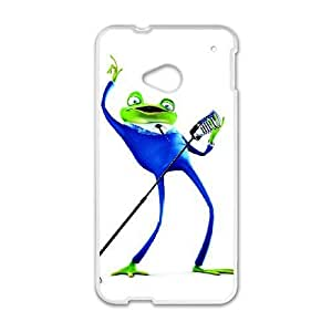 HTC One M7 Phone Case White Meet the Robinsons Frankie the Frog DXW6765096