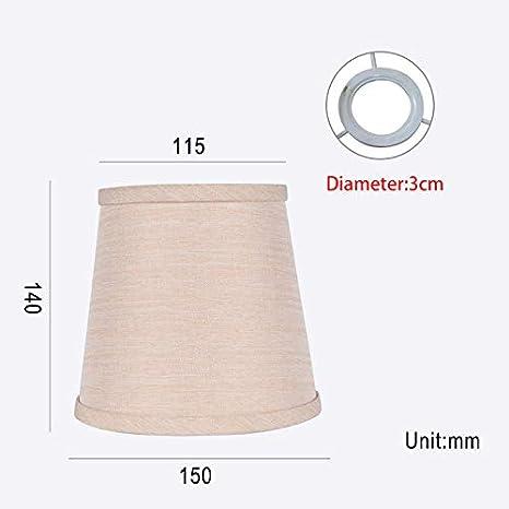 ASMGroup - Pantalla para lámpara de techo (tela de lino ...