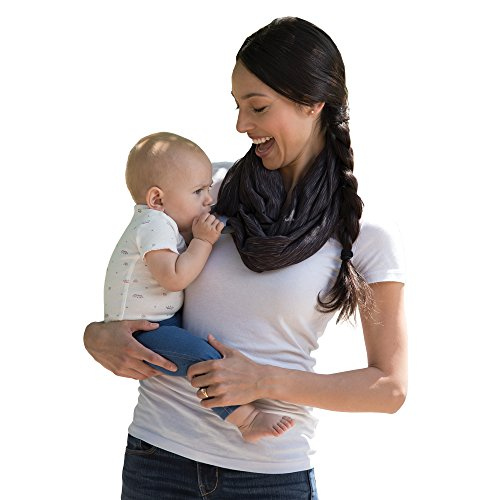 Boppy Teething Scarf, Heathered Gray