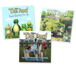 Life at the Pond 3-Pack CD Bundle with All Pond CDs -19,000 Frogs and Counting, Angels Watching Over Me, The Day Without Rules - Teach Your Kids Biblical Character - Faith, Fun, and Values Guaranteed by Isaac Entertainment