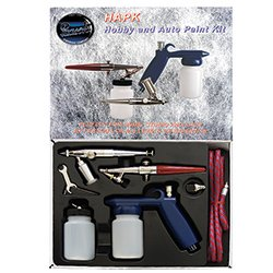 The HAPK Hobby and Auto Paint Airbrush Spray Gun Kit