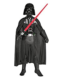 Star Wars Deluxe Darth Vader Deluxe Child Costume, Medium (size 8-10)