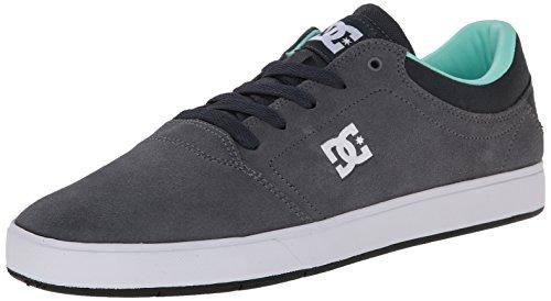 Dc Mens Crise Lace-up Sneaker Gris / Gris / Noir