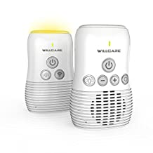Willcare Audio Baby Monitor with Baby Night light and 2-Way Communication,DBM-8