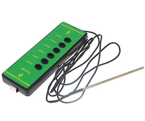 ABS Voltage Tester Electric Fencing Digital Fence 1000V-6000V Measure Current