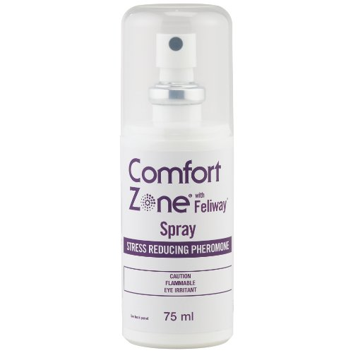 Comfort Zone with Feliway for Cats Spray, 75 Milliliters, My Pet Supplies