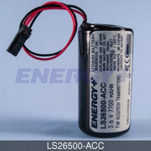 FedCo Batteries Compatible with ENERGY LS26500-ACC Replacement Battery For Schneider Electric Accutech AP10 DP20 ()