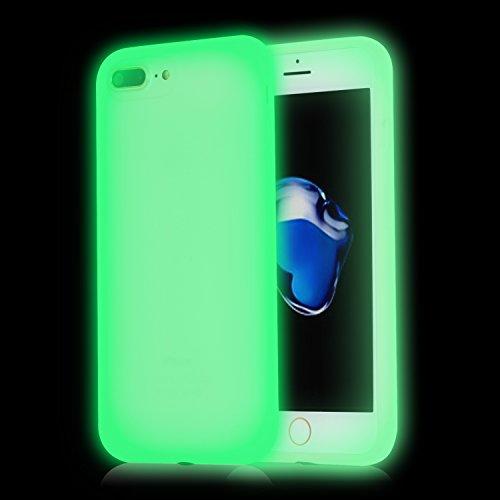 iPhone 7 Plus Case,Walcase [Shockproof] Luminous Silicone Gel Protection Shell Noctilucous Light...