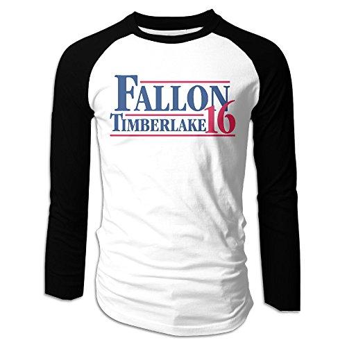 Mens Fallon Timberlake 2016 President Poster O Neck Raglan Small T Shirts