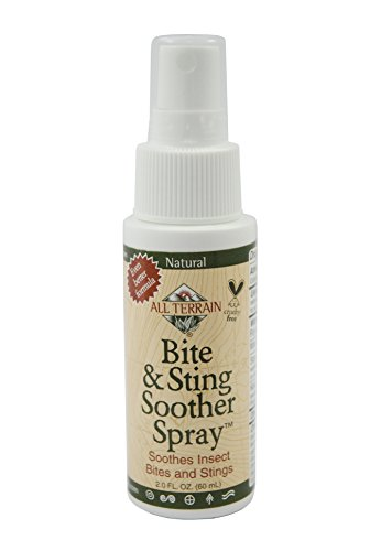 All Terrain Bite and Sting Soother, 2 Ounce, Natural Colloidal Oatmeal and Allantoin Based Itch Soother for Mosquito Bites, Bee Stings, and Other Insects and Bugs, Kid and Sensitive Skin Friendly
