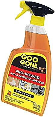 Goo Gone Pro-Power Spray Gel - 24 Ounce - Surface Safe, Great Cleaner, No Harsh Odors, Removes Stickers, Can B