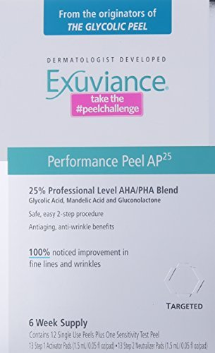 Exuviance Performance Peel AP25, 12 Count