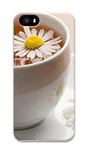 Chamomile Tea Polycarbonate Hard Case Cover for iPhone 5/5S 3D by runtopwell