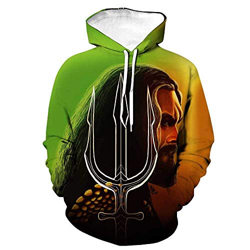 Super Hero Hoodie 3D Casual Hooded Sweashirt Pullover Tracksuits Tops 2XL]()
