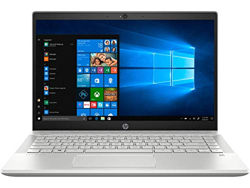 HP Pavilion 14 14-ce3022TX 2019 14-inch Laptop (10th Gen Core i5-1035G1/8GB/1TB HDD + 256GB SSD/Windows 10, Home/2GB Graphics), Mineral Silver