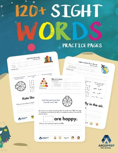 Sight Words Practice Workbook for Preschoolers to 3rd Grade: Learn the top 100 high-frequency words with our engaging activity workbook that helps ... increase their reading comprehension -