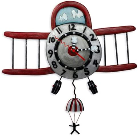 Allen Designs Airplane Jumper Pendulum Clock
