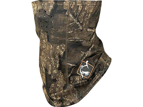 Ol' Tom Performance Half Face Mask Polyester Realtree Timber Camo