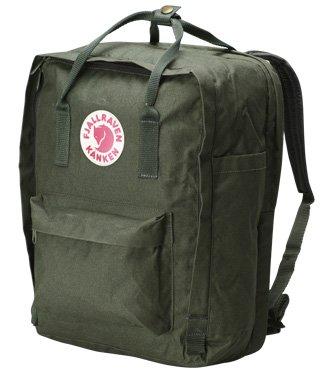 Fjallraven Kanken 15 Backpack Forest Green One Size, Outdoor Stuffs