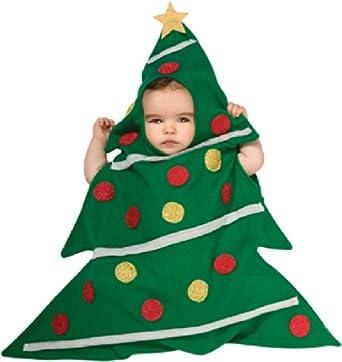Amazon.com: Rubie's Costume Baby's Christmas Tree Baby Bunting ...