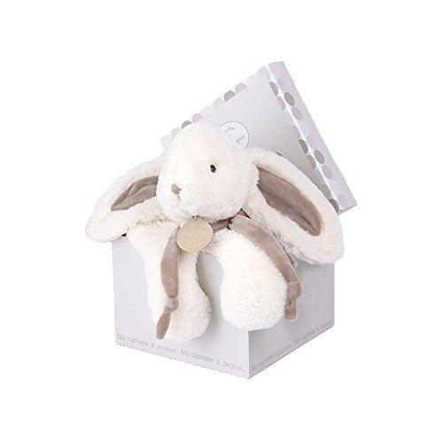 [해외]DOUDOU & CIE DC1243 미디엄 화이트 박제 푹신한 토끼 11.8\\ / DOUDOU & CIE DC1243 Medium White Stuffed Fluffy Bunny 11.8\\