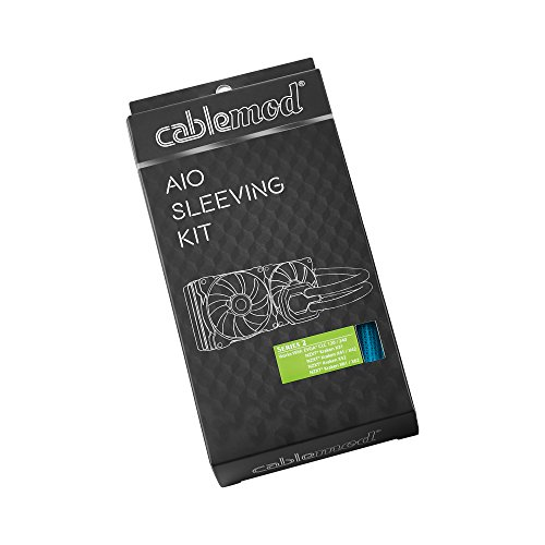 CABLEMOD AIO SLEEVING KIT SERIES 2 FOR NZXT KRAKEN / CORSAIR HYDRO PRO / EVGA CLC / EVGA GPU HYBRID (Light - Kraken R