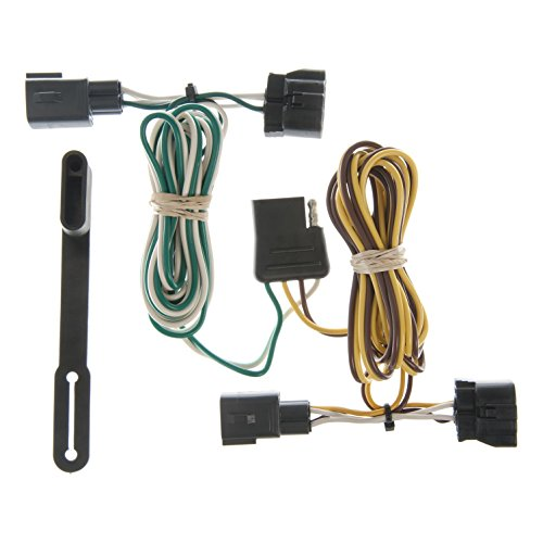 (CURT 55329 Vehicle-Side Custom 4-Pin Trailer Wiring Harness for Select Dodge Ram 2500, 3500, Dodge Dakota)