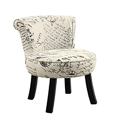 Wondrous Amazon Com Rosebery Kids French Print Chair In Beige Toys Creativecarmelina Interior Chair Design Creativecarmelinacom