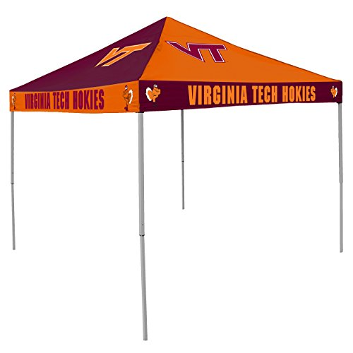 - Logo Brands NCAA CB Tent, Virginia Tech, 9 foot X 9 foot