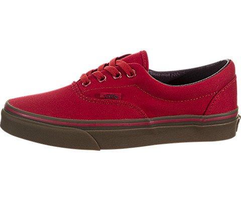 a25580c70008 Vans Unisex Shoes Era Canvas Racing Red Gum Sneakers (6.5 ...