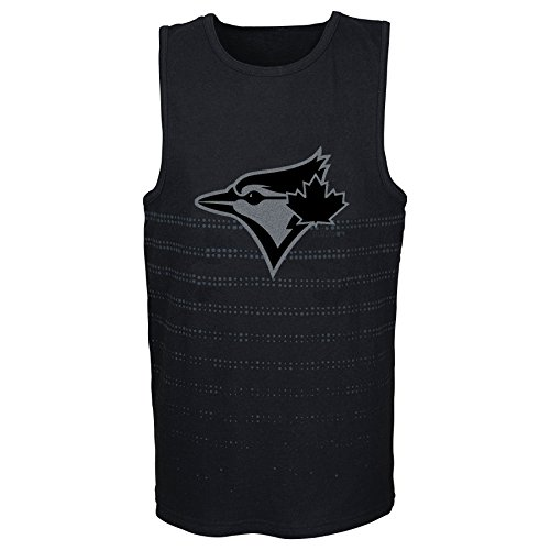 (MLB  Toronto Blue Jays Youth Boys 8-20 Reflection Tank-S (8))