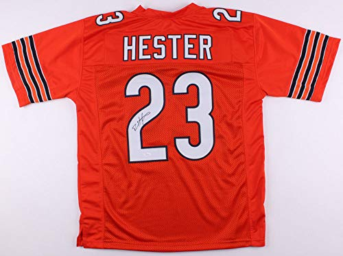 Devin Hester Autographed Signed Chicago Bears Orange Jersey - JSA ()