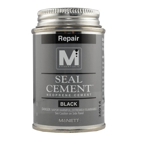 M Essentials Seal Cement Neoprene Contact Adhesive - Black -2 oz - Wetsuit Shop Repair