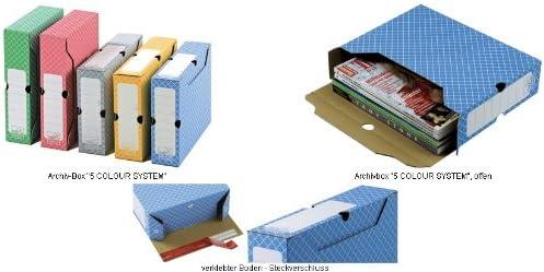 tidyPac Archiv-Schachtel 100 mm grn Rckenbreite