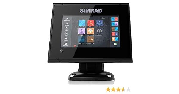 Dispositivo Multifunción Simrad Go5 Xse con Fishfinder Transductor Popa: Amazon.es: Electrónica