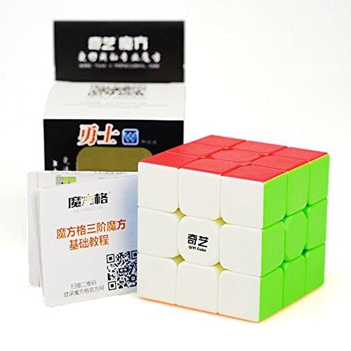 cuberspeed-qiyi-warrior-w-3x3-stickerless-speed-cube-puzzle-warrior-w-3x3x3-stickerless-magic-cube