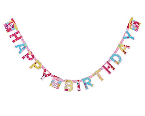American Greetings My Little Pony Party Supplies, Paper Birthday Party Banner, -