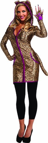 [Rubie's Costume Halloween Sensations Urban Leopard Costume, Black, Standard] (Family Themed Fancy Dress Costumes)
