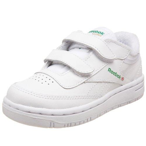Price comparison product image Reebok Infant / Toddler Versa Club C KC Tennis Shoe, White / Green, 2 M US Infant