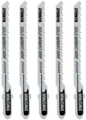 """Dewalt 3"""" 36 TPI Metal Cutting T- Shank Jig Saw Blades - DW3"""